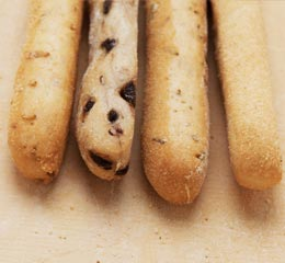 Mixed breadsticks